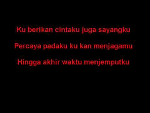 ungu percaya padaku with Lyric