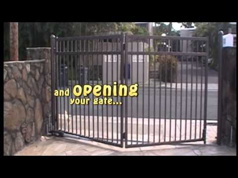 Automatic Folding Gate Youtube