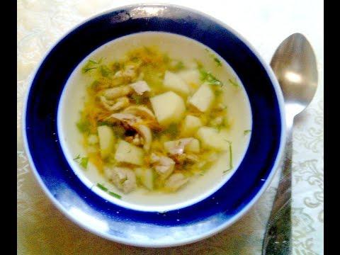 Суп куриный с вермишелью как