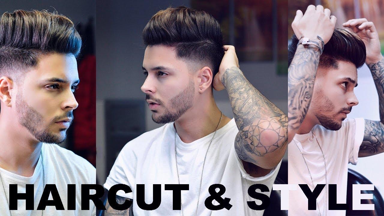 Men S Undercut Haircut Hairstyle Youtube