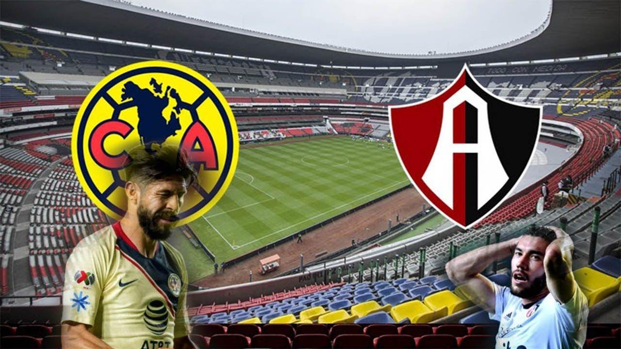 America Vs Atlas 2018 Jornada 2 Liga Mx Apertura 2018