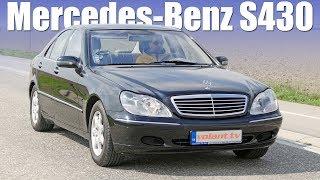 Mercedes-Benz S430 je mega luxus za pár drobných - volant.tv