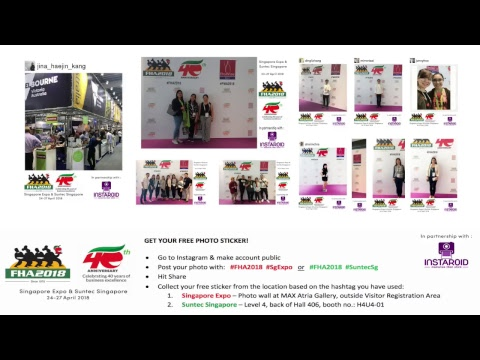 Food&HotelAsia 2018: FHA TV [Available during Show Hours]