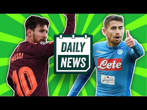 Jorginho to Manchester United? + Chelsea draw 1-1 against Barcelona | Daily Football News