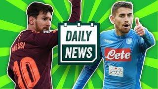 Jorginho to Manchester United? + Chelsea draw 1-1 against Barcelona | Daily Football News