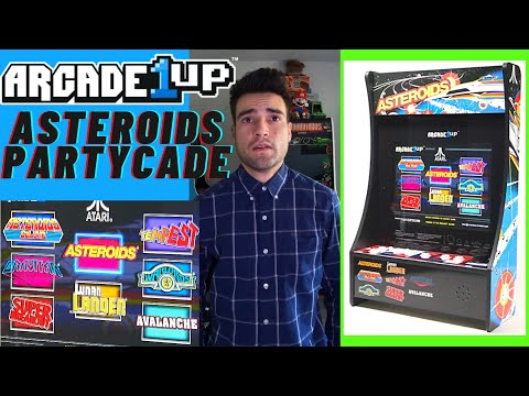 ARCADE1UP ASTEROIDS 8 IN 1 PARTYCADE from Brick Rod