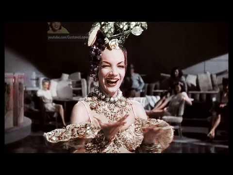 Carmen Miranda  | Tico Tico no Fubá - Colorizado  (Alta Definição)