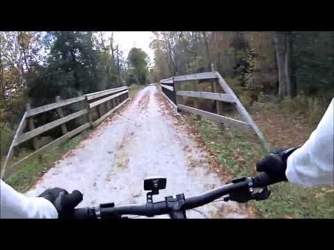 Mountain Biking - Neuse River Trail Raleigh, NC - Falls Dam to Mile Marker 11.5 Part II-Oct.31, 2015