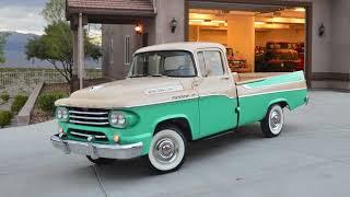 1958 Dodge D100 Sweptside Pickup