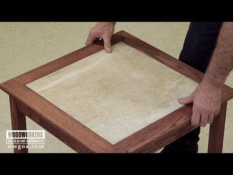 build-a-tiled-table--part-3-sand,-finish-install-the-tile-|-woodworkers-guild-of-america