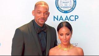 Will Smith & Jada Pinkett Smith at the NAACP Image Awards 2016