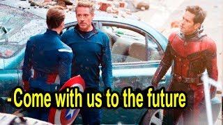 Avengers 4 LEAKED TIME TRAVEL SCENE!!! Antman, Ironman, Hulk INFINITYWAR