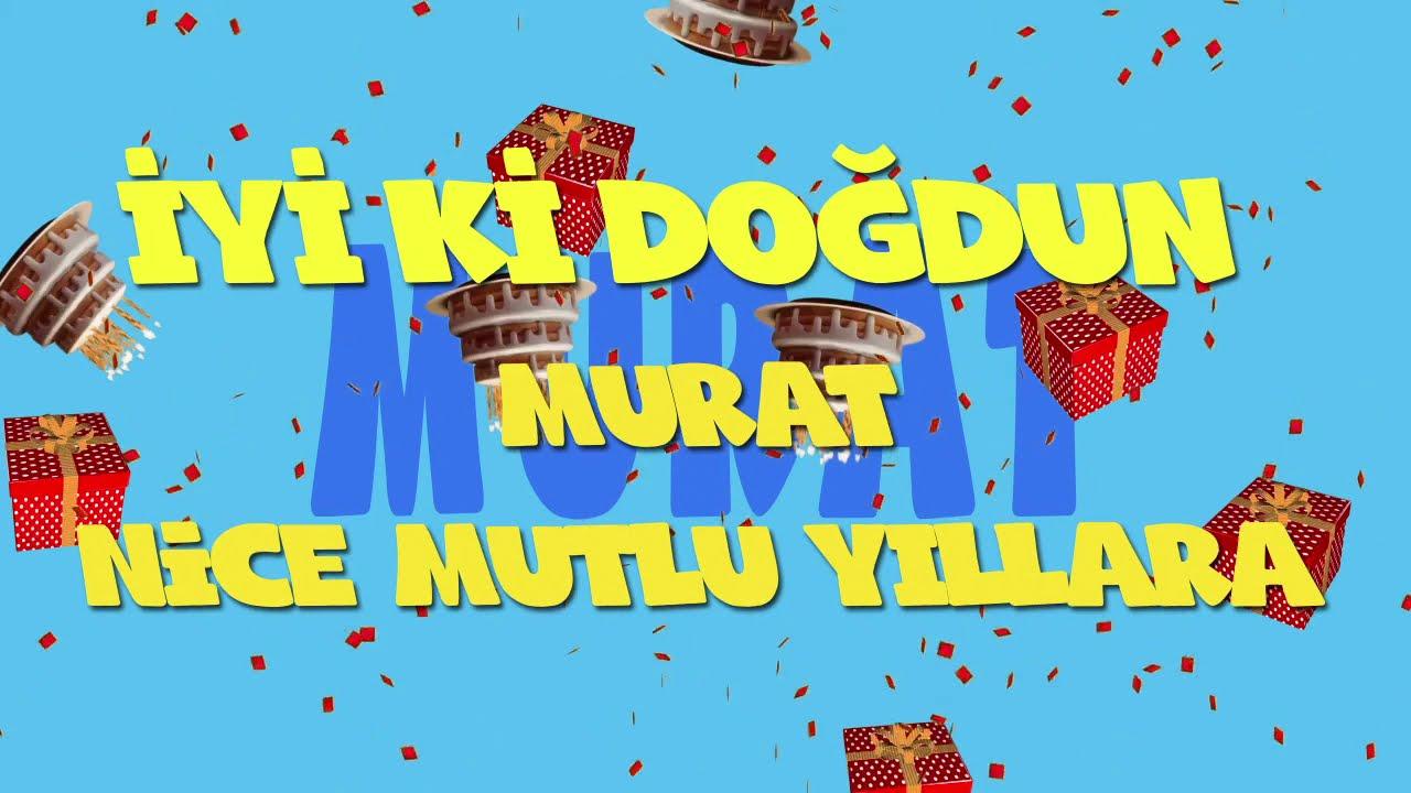 İyi ki doğdun MURAT  - İsme Özel Ankara Havası Doğum Günü Şarkısı (FULL VERSİYON) (REKLAMSIZ)