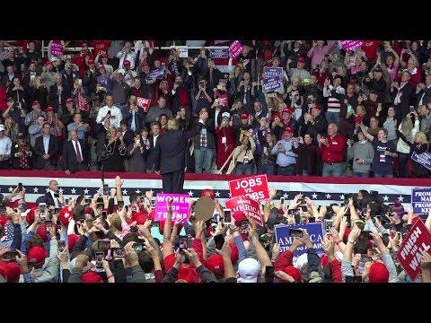 President Donald Trump Rally in Chattanooga, TN