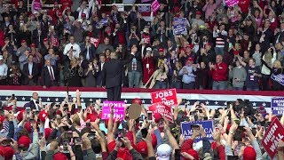 President Donald Trump Rally in Chattanooga, TN