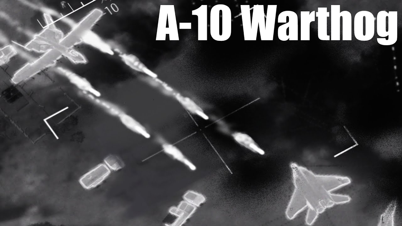 ArmA 3 - A-10 Warthog and AC-130 in Action - Combat Footage - Thermal - Simulation - Gameplay