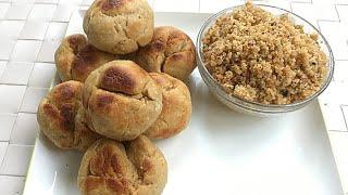 Easy Bati  Churma - No Oven recipe!