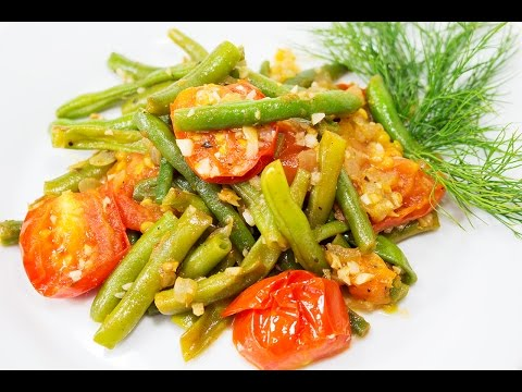 Стручковая фасоль с овощами рецепты с фото