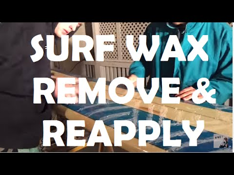 How to remove Surf Wax with NO SUN! // Surfboard Tutorial with Grizzly