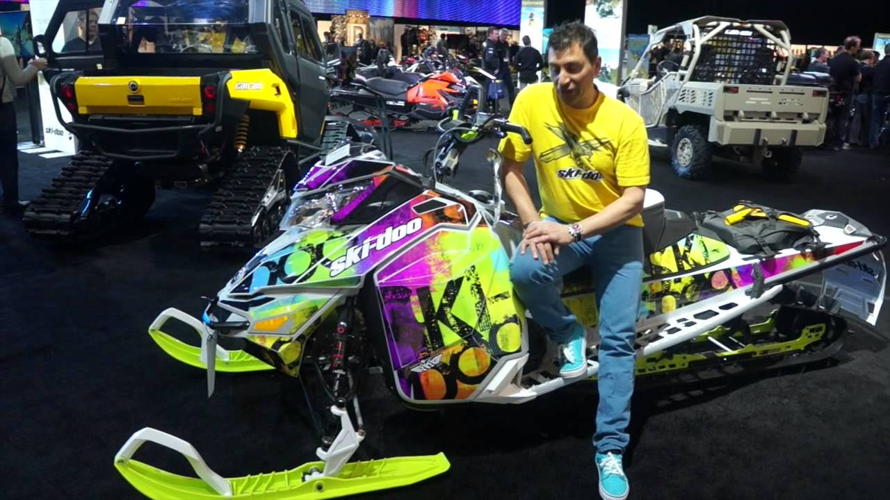 SCS UNLIMITED WRAPS 2015 SKI-DOO - YouTube