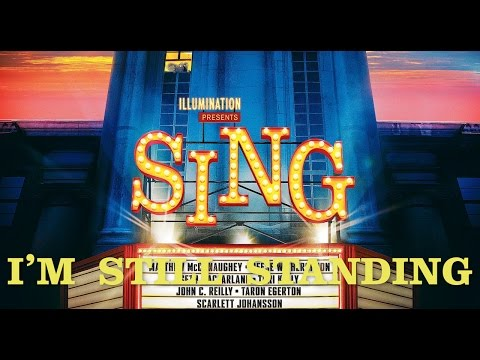 Taron Egerton - I'm Still Standing [Lyric Music Video] (Sing)