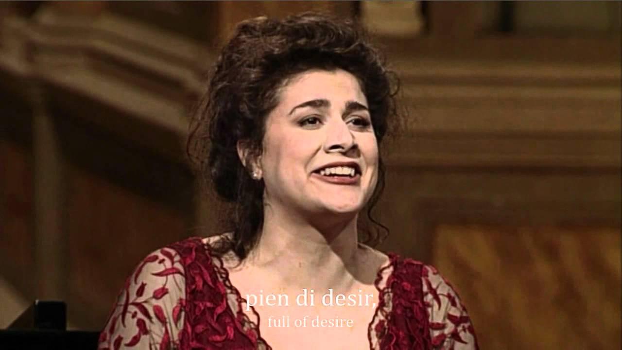 Mozart - Voi che sapete (Cecilia Bartoli) HD subtitles #1