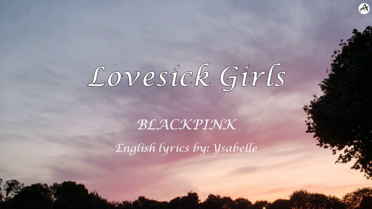 Download Lovesick Girls - English KARAOKE - BLACKPINK