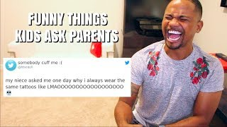 Funniest Things Kids Say To Parents (FUNNY TWEETS) | Alonzo Lerone