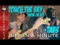TOUCH THE SKY (Move on Up) - Bass Lesson with TABS - Kanye (Curtis Mayfield)