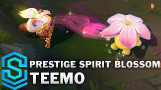 Prestige Spirit Blossom Teemo Skin Spotlight - League of Legends