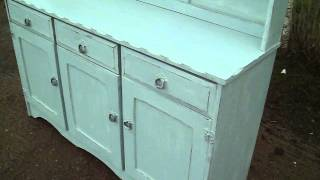 Painted Shabby Chic Dresser In Farrow And Ball