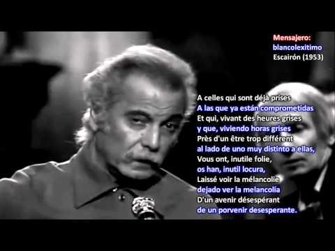 Georges Brassens traducido ► Les passantes
