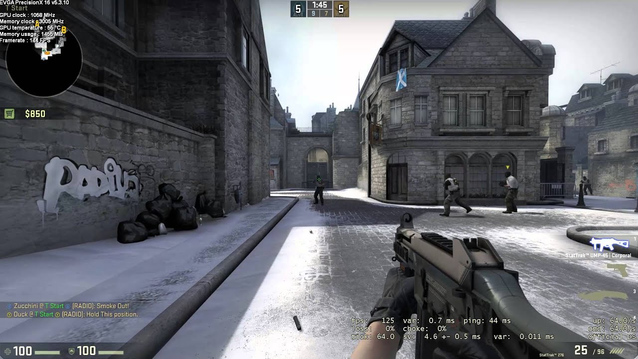 how to make username invisible in csgo