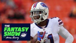 Zay Jones is a key player for Bills vs. Patriots   The Fantasy Show   ESPN