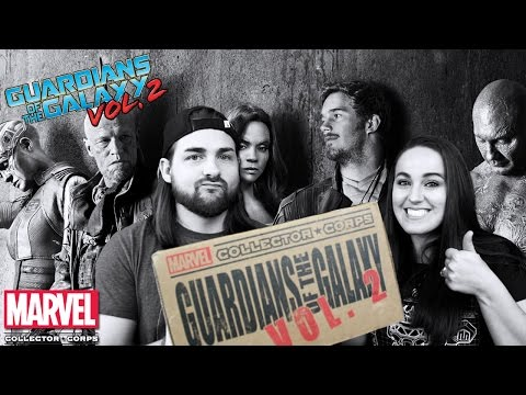Marvel Collector Corps - Guardians of the Galaxy Volume 2