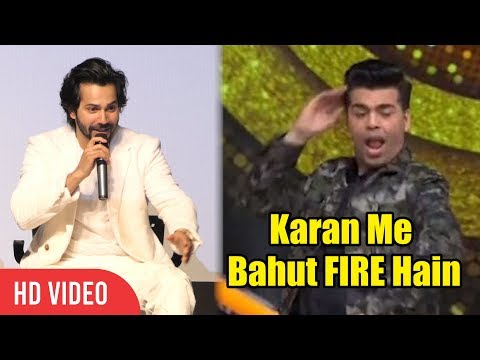 Varun Dhawan Funniest Troll On Karan Johar's Radha Dance While Student Of The Year Promotion
