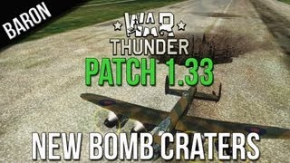 War Thunder New Patches - Lancaster 4000 Pound Bombs - New Bomb Craters (Patch 1.33)
