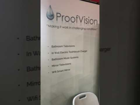 Proofvision-Messe  Frankfurt ISH 2017 Trade show