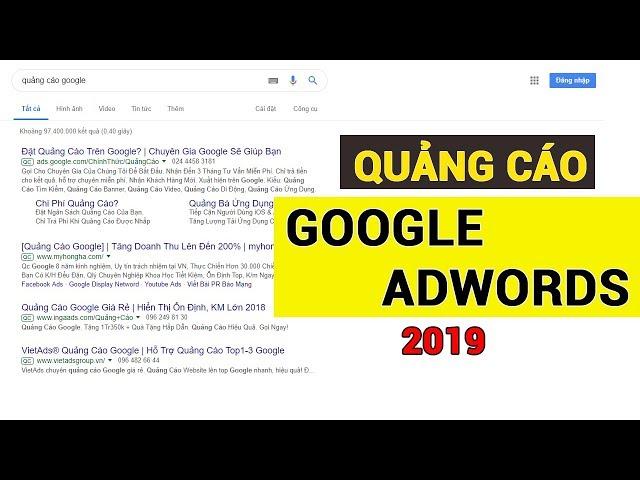 [Vũ Tuấn Anh] Hướng Dẫn Quảng cáo Google Adwords (Phiên Bản Mới) hay còn gọi là Google Ads