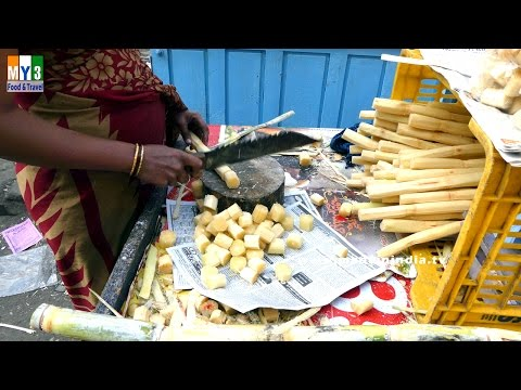 SUGERCANE CUTTING | Buyer Of Sugar Cane | HEALTHY STREET FOODS IN INDIA