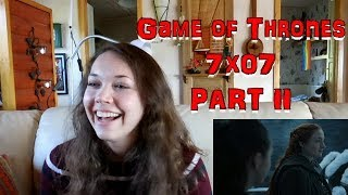game of thrones reaction 7x07 the dragon and the wolf part 2