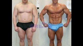 Крутая мотивация -парни до и после качалки