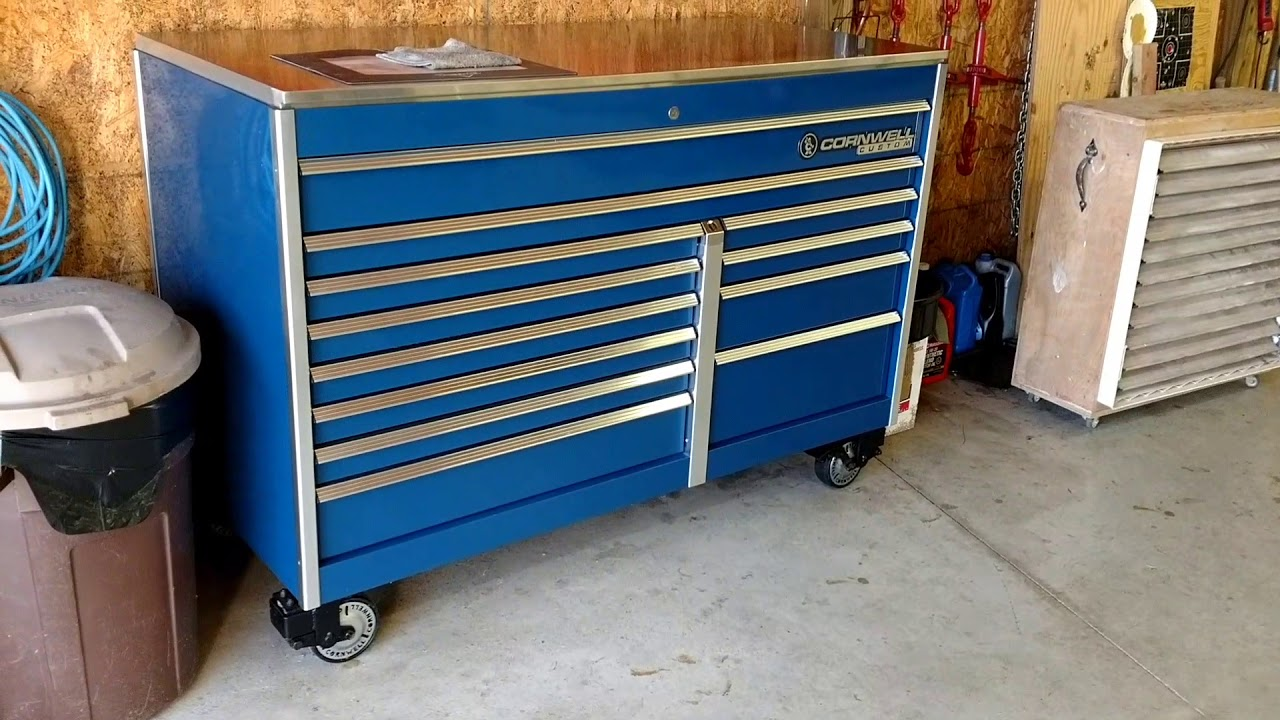Cornwell Custom 67 Quot Tool Box Youtube
