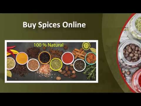 Buy Spices, Online Spice Store,Order Spices Online - Munnalal Dawasaz from YouTube · Duration:  1 minutes 1 seconds