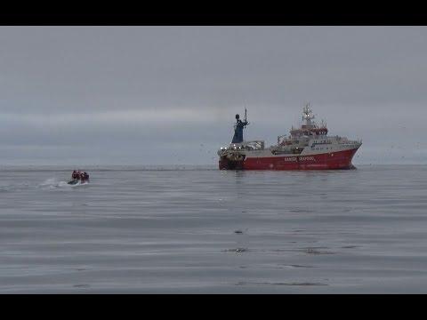 TULU fishing patrol in Greenland Sea