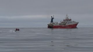 TULU fishing patrol in Greenland Sea