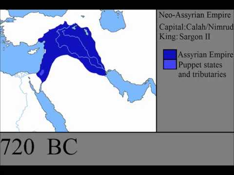 The Rise and Fall of the Assyrian Empire