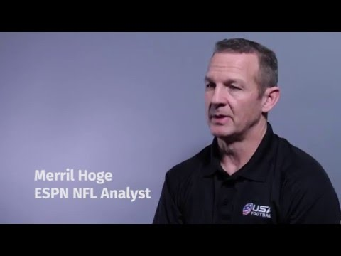 2016 USA Football National Conference: Merril Hoge discusses Chuck Noll, great coaches