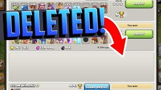 ATTACK DELETED! A Clash of Clans 'Strange but True' MYSTERY...