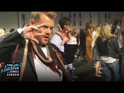 James Corden Headlines Burberry Fashion Show